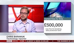 BBC News appearance